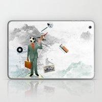 soccer man Laptop & iPad Skin