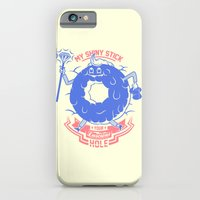 iPhone & iPod Case featuring Mischievous donut by Johnny Cobalto