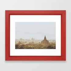 Bagan III Framed Art Print