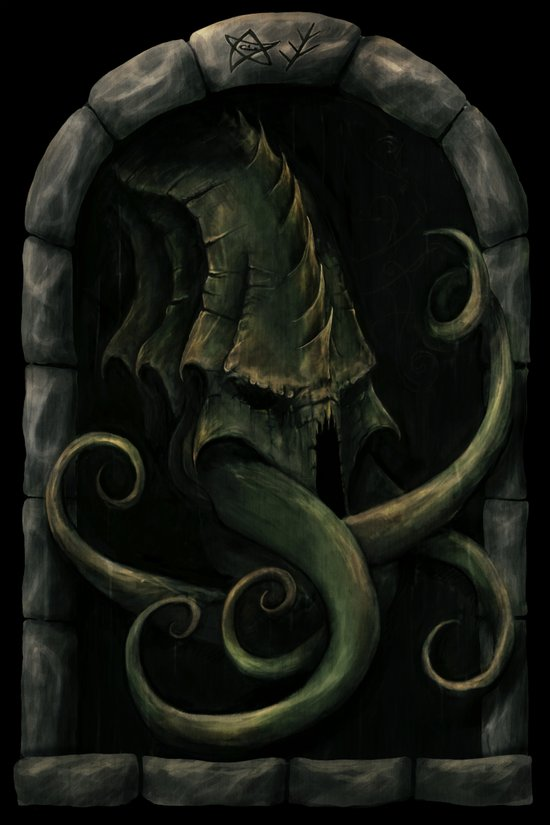 Cthulhu Awakens Canvas Print