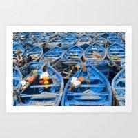 Row row row your boat Art Print