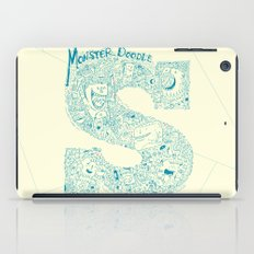 Monster Doodle - light version iPad Case