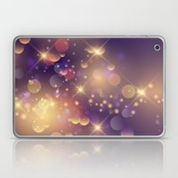 Festive Sparkles In Purp… Laptop & iPad Skin