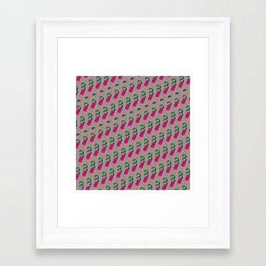 Viñedo Framed Art Print