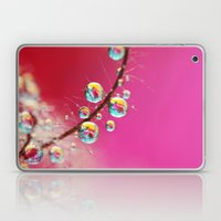 Smoking Pink Drops Laptop & iPad Skin
