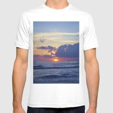 The Utopia White Mens Fitted Tee SMALL