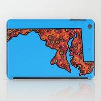 Maryland Paisley Illustration iPad Case