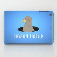 Pigeon Holed iPad Case