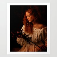 A peasant woman Art Print