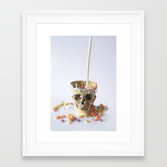 Cereal Killer Framed Art Print