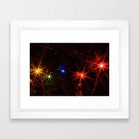 Christmas Funk Framed Art Print