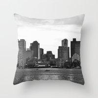 Boston, I love you. Throw Pillow