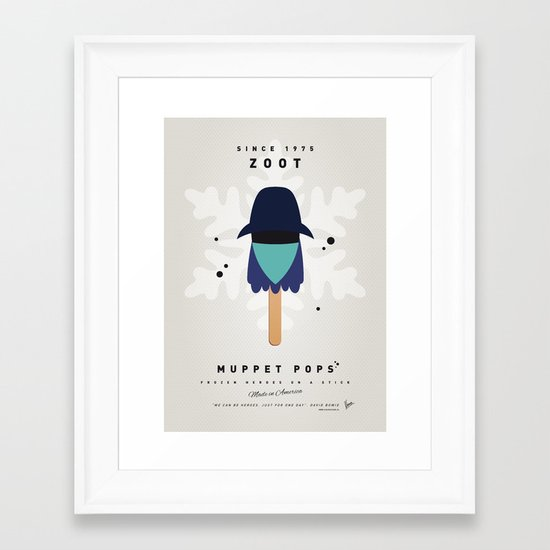 My MUPPET ICE POP - Zoot Framed Art Print