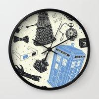 Artifacts: Doctor Who Wall Clock