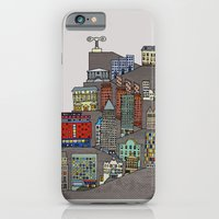 iPhone & iPod Case featuring Townscape by Stephen Longwill