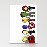 ASSEMBLE! Stationery Cards
