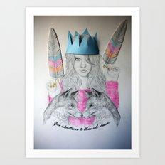 Free admittance to those who dream Art Print