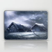 Going Home for Christman Laptop & iPad Skin