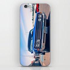 Fairlane blue iPhone & iPod Skin