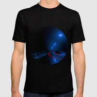 Nocturne Mens Fitted Tee Black SMALL