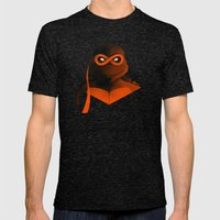 Michelangelo Forever Mens Fitted Tee Tri-Black SMALL
