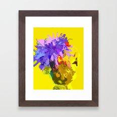 Flower of the Wild Framed Art Print