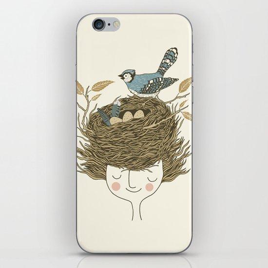 Bird Hair Day iPhone & iPod Skin