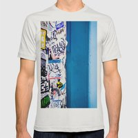 Urban Mens Fitted Tee Silver SMALL