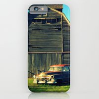 iPhone & iPod Case featuring 1950 Cadillac & Barn by Lyle Hatch