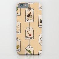 iPhone & iPod Case featuring Tea Tag Time by Mariya Olshevska