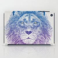 Face of a Lion iPad Case