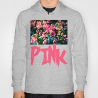 Pink Crab Apple Flowers Hoody
