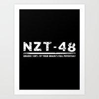 NZT Art Print