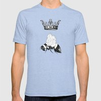 Queen Bee Mens Fitted Tee Tri-Blue SMALL