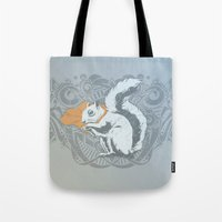 Fearless Creature: Chippy Tote Bag