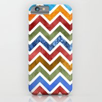 iPhone & iPod Case featuring Chevrons in Color by virginia odien