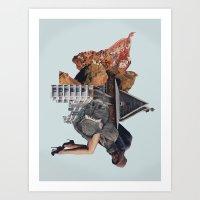 Living Stains Art Print