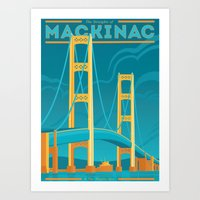 The Mighty Mac! Art Print