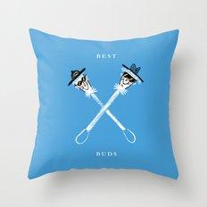 Best Buds I Throw Pillow