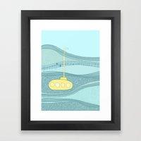 Yellow Submarine Framed Art Print