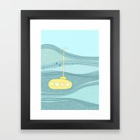 Yellow Submarine Framed Art Print