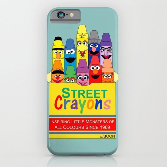 Color Me Sesame iPhone & iPod Case