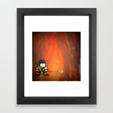 Scorpion (Mortal Kombat) Framed Art Print