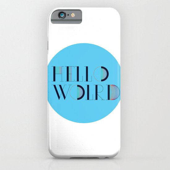Hello World | Comp Sci Series iPhone & iPod Case