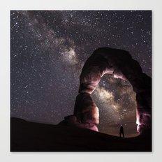 Watching Stars Canvas Print