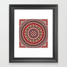 Hippie Mandala 5 Framed Art Print