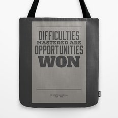 Difficulties Tote Bag