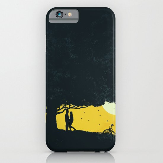 Meet me under the giant oak tree iPhone & iPod Case
