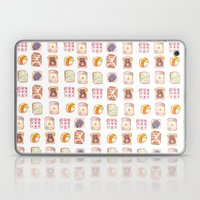 Toast Pattern Laptop & iPad Skin