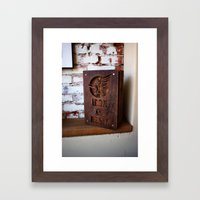 Iron and Resin Framed Art Print